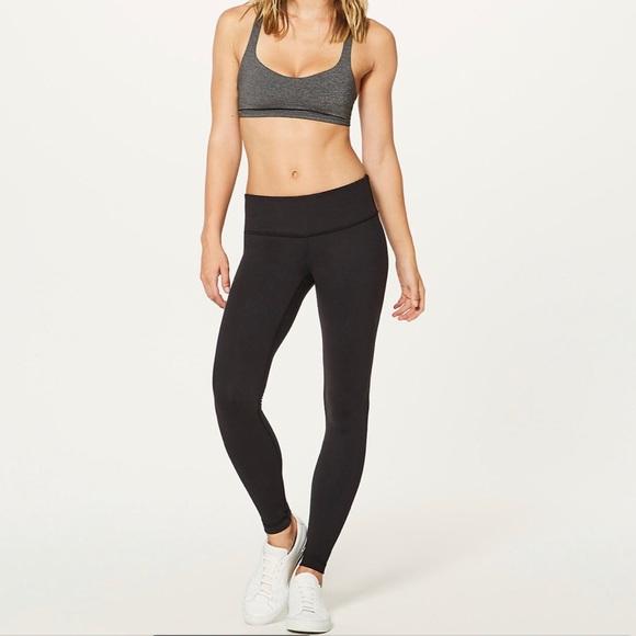 21442323ff lululemon athletica Pants - Size 6 Long Black Lululemon Yoga Leggings